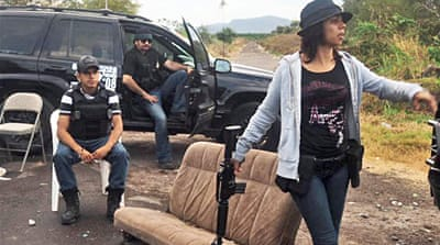 In Pictures: Mexico vigilantes battle cartels