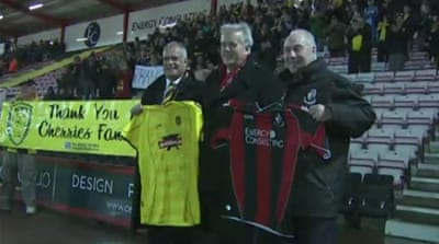 Bournemouth fans pay for rivals' FA Cup trip