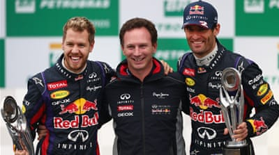 Red Bull have won the driver's and constructor's trophies for the last four years [Getty Images]