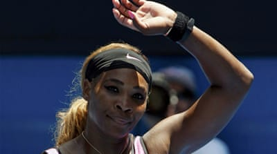 Serena remains favourite to win the Australian Open women's title [Reuters]