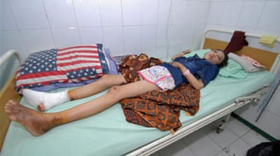 Erwiana's parents say she suffers dizziness and headaches from repeated blows [Jack Hewson/Al Jazeera]