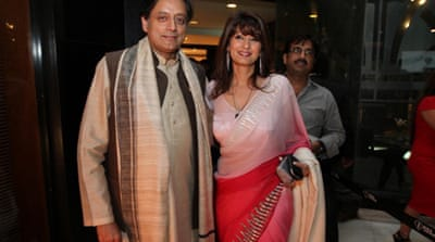 Tharoor had to quit as a minister earlier following controversy over his wife's links to a cricket tournament  [Getty Images]