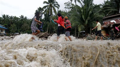 Floods and landslides hit the Philippines