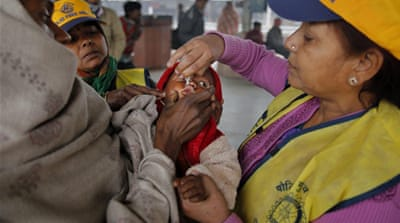 How India won over polio drop by drop