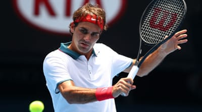 Roger Federer eased through to the quarters with a straight-sets win [Getty Images]