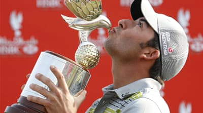 The Abu Dhabi Championship was Larrazabal's third European Tour victory [Reuters]