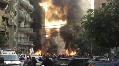 Sectarian tensions have increased in Lebanese cities such as Tripoli, Baalbek, Sidon and Beirut [Reuters]
