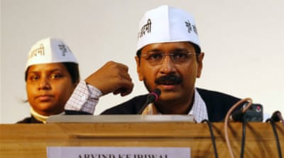 The AAP rode a wave of popular support and won 28 seats in Delhi in December assembly elections [Reuters]