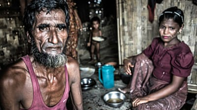 In Pictures: The plight of the Rohingya