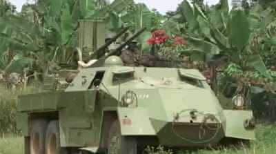Congo army assault on rebel-held area