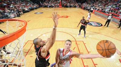 Chandler Parsons posted 31 points, 10 rebounds and seven assists as the Rockets' win [AFP]