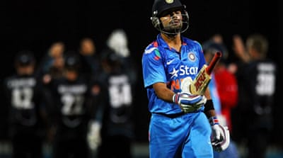 Virat Kohli scored another impressive half-century but failed to take his side home in the 2nd ODI [Getty Images]