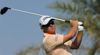 Coetzee's opening round was just two shots over his personal best of 62 achieved 15 months ago [Reuters]