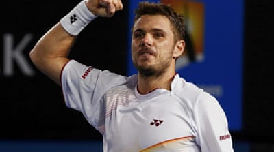 Stanislas Wawrinka has never beaten Rafa Nadal and has won just one match against Roger Fedrer [Reuters]