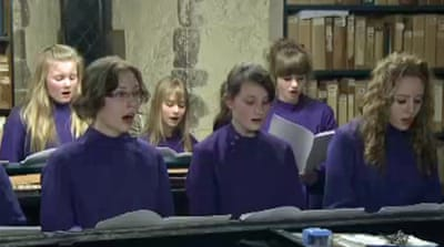UK cathedral gets its first girls' choir