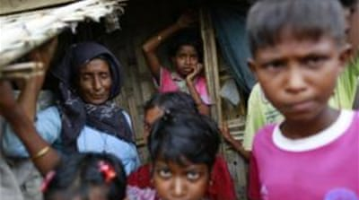Myanmar has been accused of persecuting the religious minority [EPA]