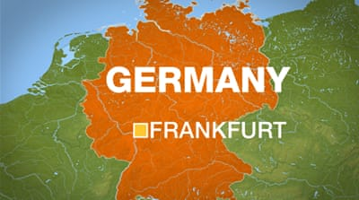 Germany court attack leaves two men dead
