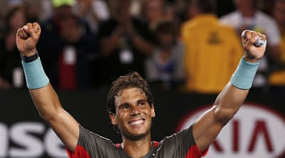 Rafael Nadal has now won 23 of his 33 matches against Roger Federer [Reuters]
