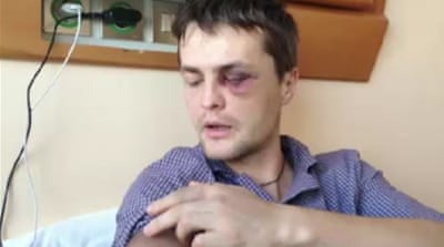 Ukraine's riot police accused of brutality