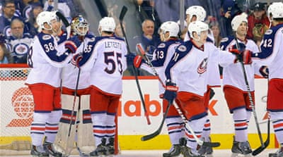 Columbus Blue Jackets eight straight wins is the longest active streak in the league [Reuters]