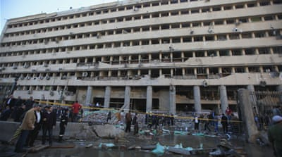 Cairo police base rocked by deadly explosion