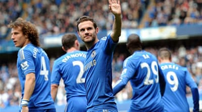 Rival managers have slammed the timing of Mata's move to United as Chelsea are at an advantage [AFP]