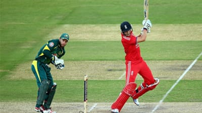 Joe Root bats during game five of the One Day International Series between Australia and England [Getty Images]