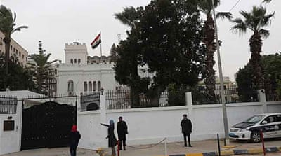 Libyan officials confirmed on Saturday they were in touch with the diplomats' kidnappers [AFP]