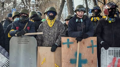 In Pictures: Ukraine unrest continues