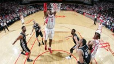 Dwight Howard finished with 23 points and 16 rebounds in the 97-90 win for Houston [AFP]