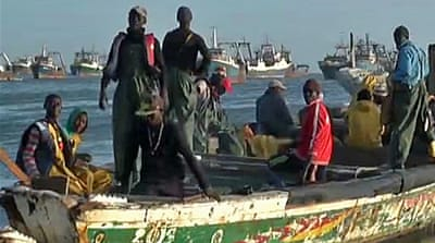 Sub-Saharan migrants struggle to reach Europe
