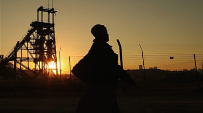 S Africa female miners face sexual harassment