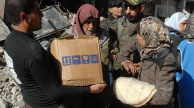 UN: Syria starving people into submission