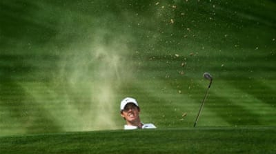 McIlroy was let down by a 74 on the opening day [AFP]