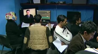Afghan TV boosts election coverage