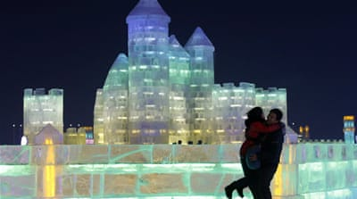 Frozen wonderland unveiled in China