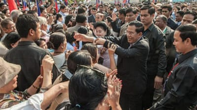 In pictures: Cambodia's Victory Day