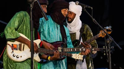 The Tuareg band Terakaft [Photo: © Tim Theo Deceuninck]