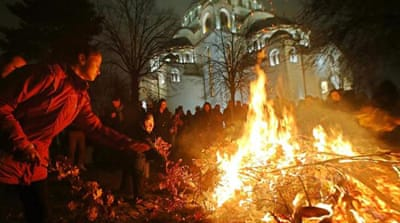 In pictures: Orthodox Christmas