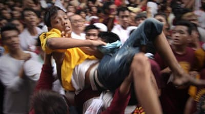 In pictures: Feast of the Black Nazarene