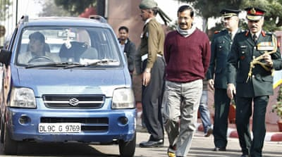 Arvind Kejriwal, shunning privileges, has ushered in a new age of simple living [Reuters]