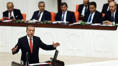 Turkish President Recep Tayyip Erdogan has presided over a package of contentious education reforms [AFP]