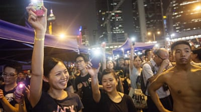 The media war for Hong Kong