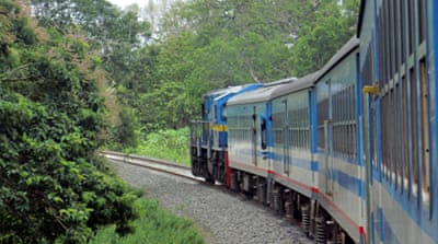 In Pictures: Sri Lanka opens Tamil rail ties