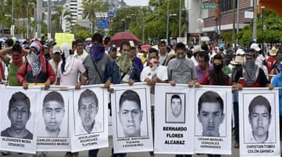 Mexico expands search for missing students