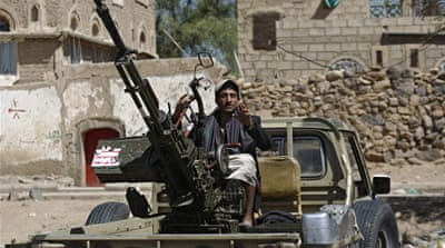 Houthi fighters have seized on instability to take control of large parts of Yemen [AFP]
