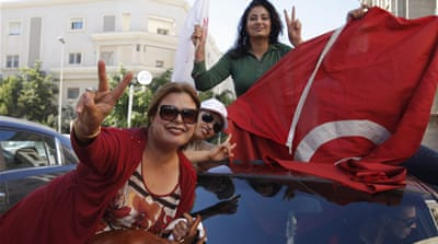Tunisia's confident secularists weigh options
