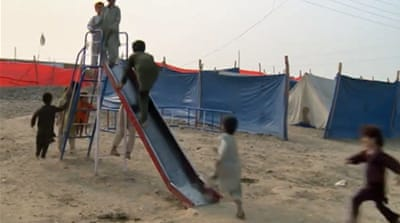 Desperation grows among Pakistan's displaced
