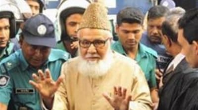 Motiur Rahman Nizami was convicted on charges of genocide, rape and murder [AFP]