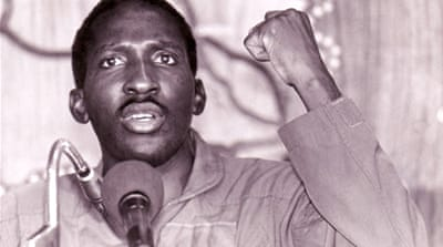 At the time of his murder Sankara was just 37 and had ruled for four years [La Vie de Sankara in Ouagadougou]